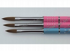 Nail Kolinsky sable brush