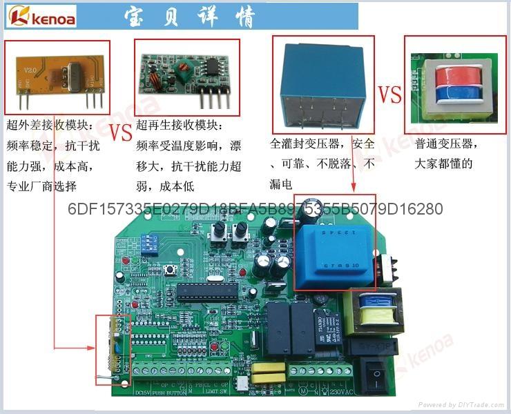 [厂家]平移门开门机遥控电动门控制器G24R 4