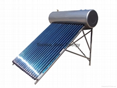 Integrative pressurized solar water heater