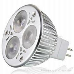 3X1W MR16 LED 聚光燈