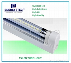 10W T5 LED Light Tubes Fixtures for Cabinet Light, Advertising Box Lighting