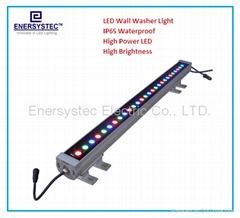 Wallwasher led light,rgb