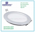 Round Led Panel downlight retrofits 2835