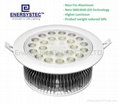 24W LED Downlight manufacturer ce rohs tuv etl good quality