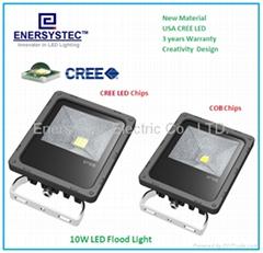 10W LED FloodLights 230V garden led lighting