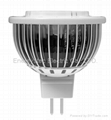 5W MR16 LED spotlight 6000K Cool White For Cabinet Light Shop Hotel Bed room