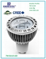 7W GU10 LED Spotlights 3000K Soft-Light 60W Equivalent Philips LED 5 Years