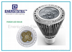 6w Par20 LED Light bulb dimmable 100-240V 60W Equivalent Samsung LED 600LM