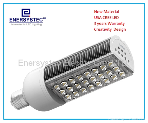 30W Street Light E39 E40 Mogul Base 200W Equivalent for Street Light Roadway 1