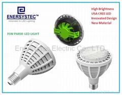35W par30 led lamp cree led 100-240V 6000K Cool White For shop