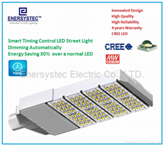 Intelligent street light,Dimming LED Street Light,timer control street light