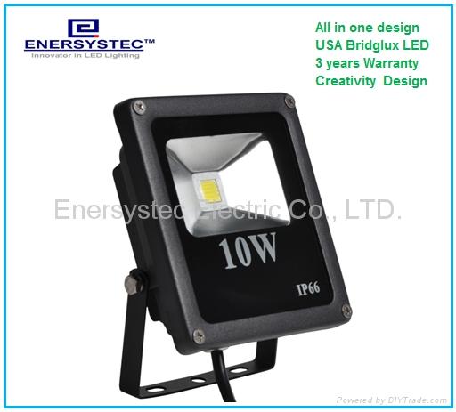 10W garden LED flood lights ip65 led landscape lighting  1
