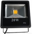20W LED flood light building lamp black housing 6000K Cool White