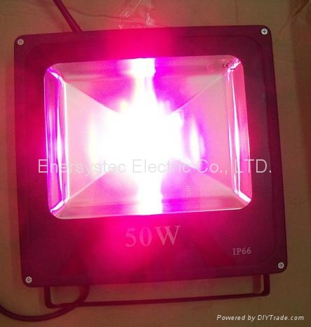 50W RGB LED Flood Lights RF Remote Control with synchronous,Memory, Dimmable 3