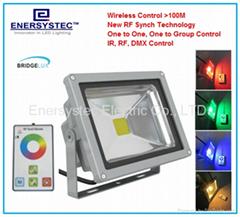 20W RGB LED Floodlights dmx control