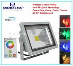 20W RGB LED Floodlights