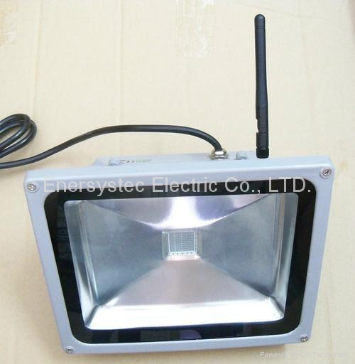 30W RGB LED Flood Lights Outdoor IP65 Remote Control Distance 100 Meter,Porch 2