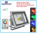 30W RGB LED Flood Lights Outdoor IP65 Remote Control Distance 100 Meter,Porch