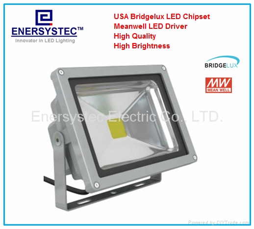 High quality 50W LED Floodlights 3 years warranty cob outdoor ip65 1