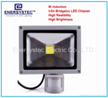 30W Induction LED Flood Lights with detector PIR sensor Security Light