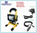 10W emergency rechargeable flood light with RoHS and CE certificated 1