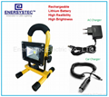 10W emergency rechargeable flood light with RoHS and CE certificated