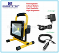 20W rechargeable led flood lighting work
