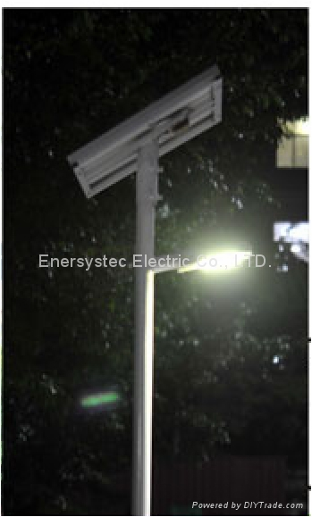40W Solar LED Street Light IP65 With Lithium Battery Dusk to Dawn Auto ON OFF 3