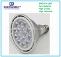 15w PAR38 LED Lights Bulb E27 E26 12W Equivalent Softlight 2700K