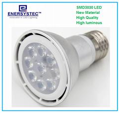 Dimmable Par20 LED light bulb 9w 100-240VAC 3000K 600K