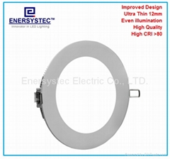 LED panel downlights,round led panel light,flat led light panel,slim panel light (Hot Product - 1*)