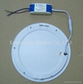 18W LED light panel dimmable panel downlight 8inch ultra thin panel light