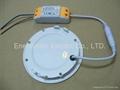 "dimmable led panel lights 6W LED downlight 4"" LED panel light"
