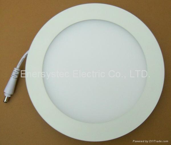 LED panel lights round light panel 4 inch 12w 3