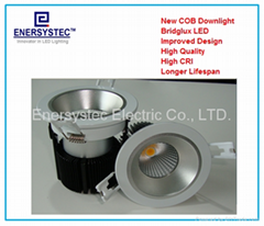 LED Down Light COB 12W 24Vdc, 12W with 1200LM, for Solar system, or battery