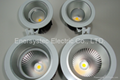LED Downlight fixture hotel lighting install on the ceiling, 2000LM, Samsung LED