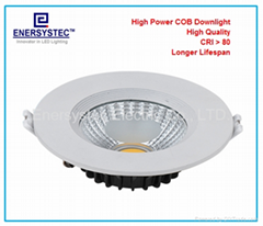 5W Recessed LED Downlight 100-240V 50/60Hz 500LM, 40W Bulb Replacement,