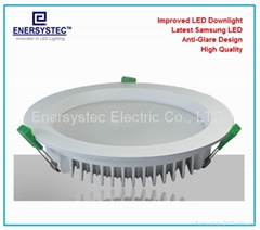 8inch 32W LED Downlight Aluminum Case, SMD5730 LED Samsung,100-264VAC