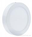 12W Round LED Panel Light 6 inch high brightness surface mount 4