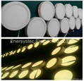 12W Round LED Panel Light 6 inch high brightness surface mount 6