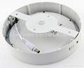 12W Round LED Panel Light 6 inch high brightness surface mount