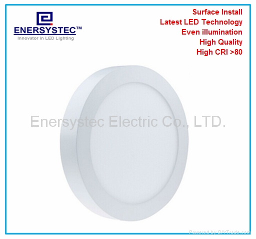 18W Round LED Panel downlight warm light dimmable 1
