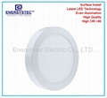 18W Round LED Panel downlight warm light
