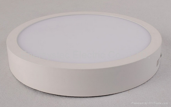 18W Round LED Panel downlight warm light dimmable 5