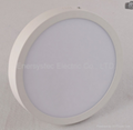 18W Round LED Panel downlight warm light dimmable 3
