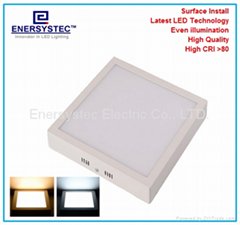 18w square LED light panel dimming