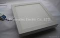 18w square LED light panel dimming
