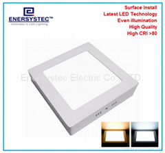 12W LED Panel lights flat light panel 100-240VAC 1200LM for Office,Supermarket