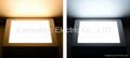 12W LED Panel lights flat light panel 100-240VAC 1200LM for Office,Supermarket