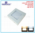 5W LED panel lights surface mounted